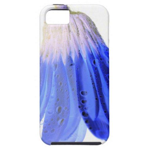 Margarita azul y blanca iPhone 5 Case-Mate protector