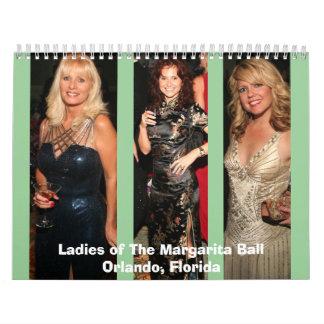 Margarita Ball Ladies Calendars