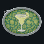 "Margarita Belt Buckle<br><div class=""desc"">A glass of Margarita cocktail.</div>"