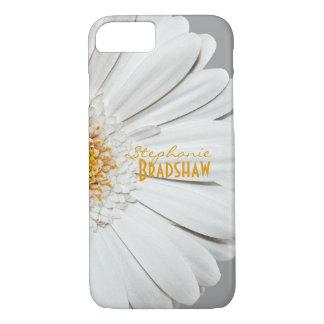 Margarita blanca amarilla del Gerbera Funda iPhone 7