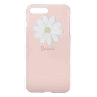 Margarita blanca pálida - iPhone7 rosado más el Fundas Para iPhone 7 Plus