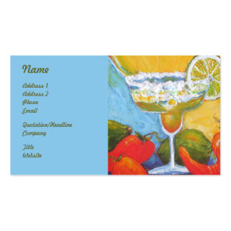 Margarita Business Cards