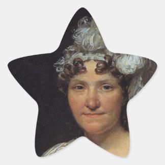 Margarita Charlotte David Pegatina Forma De Estrella Personalizadas