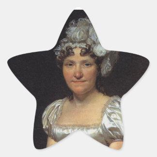 Margarita Charlotte David Pegatina En Forma De Estrella