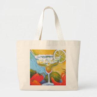 Margarita & Chile Pepper Canvas Bag