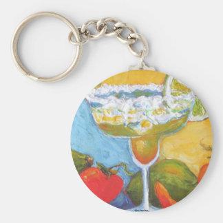 Margarita & Chile Pepper Keychain