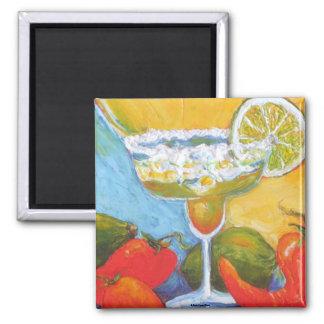 Margarita & Chile Pepper Refrigerator Magnet