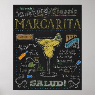 Margarita Cocktail poster