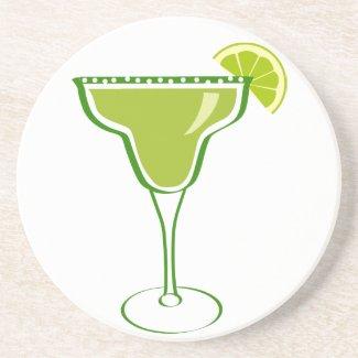 Margarita Cocktail Sandstone Coaster coaster