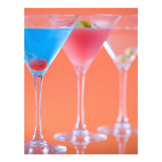 Margarita cocktails flyer