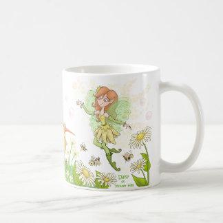 Margarita de las colinas de la flor taza clásica