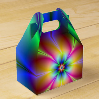 Margarita de neón caja para regalos
