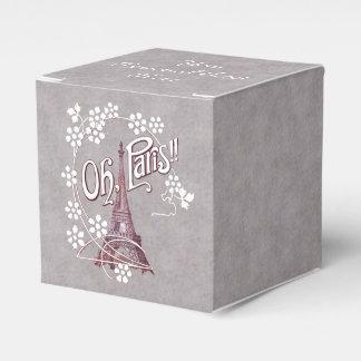Margarita de París Francia de la torre Eiffel del Caja Para Regalo De Boda