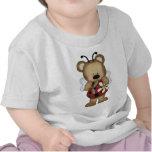 Margarita de señora Bug Baby Bear With Camisetas