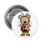 Margarita de señora Bug Baby Bear With Pin
