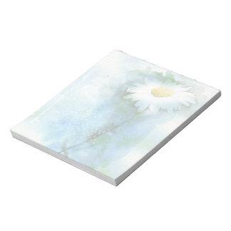 Margarita del bonito de la acuarela bloc de papel