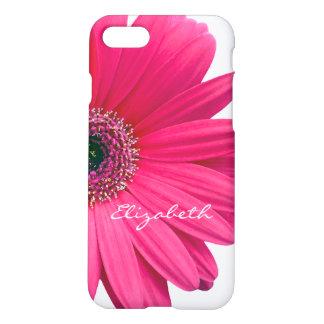 Margarita del Gerbera de Gerber de las rosas Funda Para iPhone 7