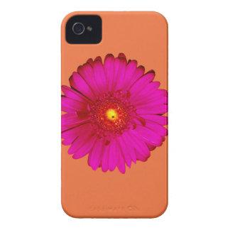 Margarita del Gerbera de las rosas fuertes en el Funda Para iPhone 4 De Case-Mate