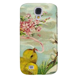 Margarita del rosa del algodón del polluelo de Pas Funda Para Galaxy S4