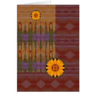 Margarita del sudoeste tarjeta de felicitación