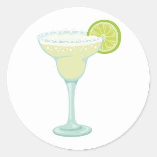 Margarita Drink Classic Round Sticker