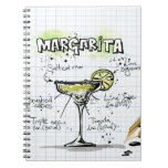 Margarita Drink- Cocktail Gift Note Books
