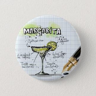 Margarita Drink- Cocktail Gift Pinback Button