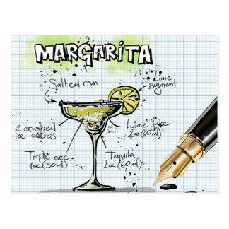 Margarita Drink- Cocktail Gift Postcard
