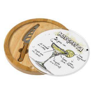 Margarita Drink Recipe Design Cheese Board