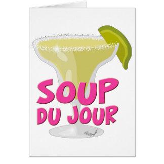 Margarita Du Jour Card