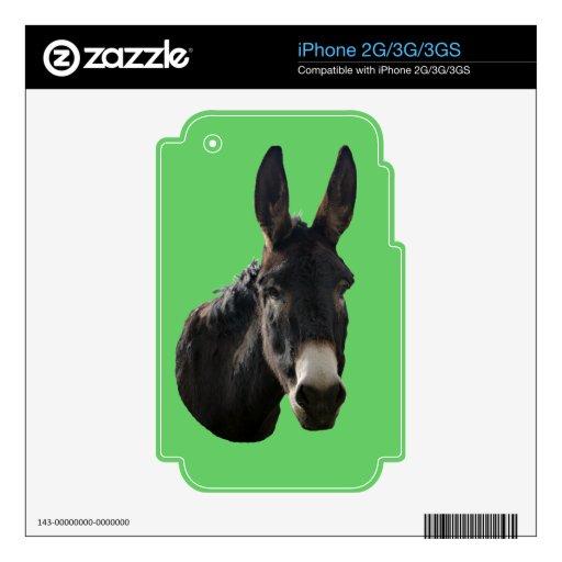 Margarita el burro skin para el iPhone 3