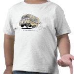 Margarita el helado del vintage Van Toddler Tee Camiseta