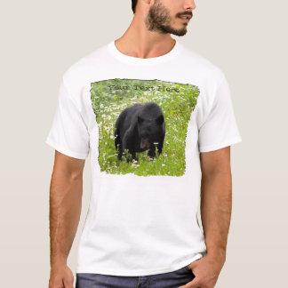 Margarita el oso negro; Personalizable Playera