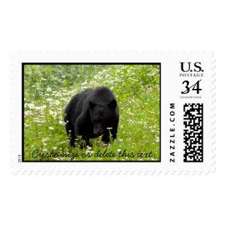 Margarita el oso negro; Personalizable Sellos