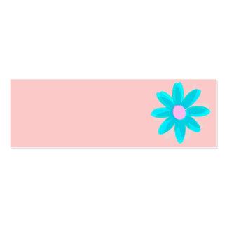 margarita en colores pastel tarjetas de visita mini