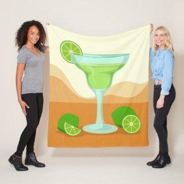 "Beach Themed ""Margarita"" fleece blankets"