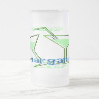 Margarita Frosted Glass Mug