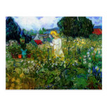 Margarita Gachet de Van Gogh en el jardín (F756) Postal