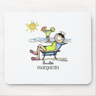 Margarita Girl Mouse Pad