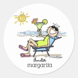 Margarita Girl Stickers