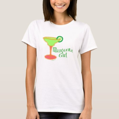 Margarita Girl T_Shirt