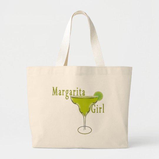 Margarita girl t shirt large tote bag for Jumbo t shirt bags