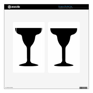 Margarita Glass Kindle Fire Decals