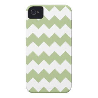 Margarita Green Modern Zig Zag Iphone 4/4S Case