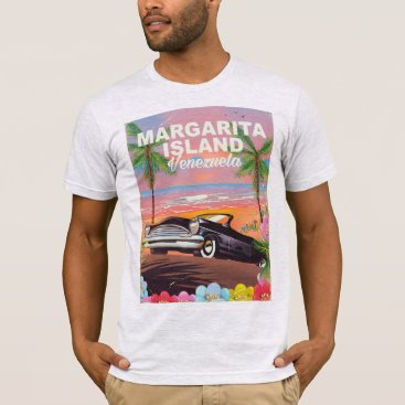 Beach Themed Margarita Island - Venezuela travel poster T-Shirt