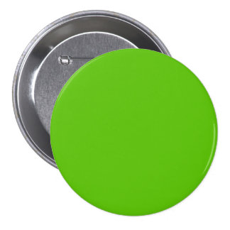Margarita Lime-Acid Lime-Green Uptown Girl Wedding 3 Inch Round Button