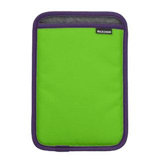 Margarita Lime-Acid Lime-Green Uptown Girl Wedding iPad Mini Sleeve