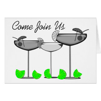 Margarita Lovers With Limes Invitations