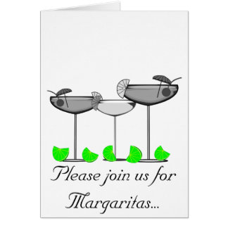Margarita Lovers With Limes T-Shirts & Gifts Card
