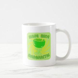Margarita Madness Classic White Coffee Mug